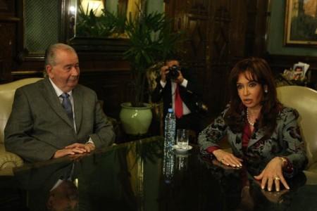 Cristina y Grondona