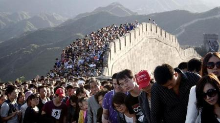 multitud-muralla-china
