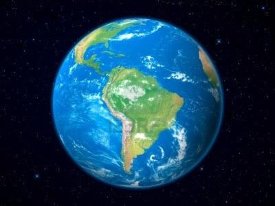América del Sur desde-el-espacio