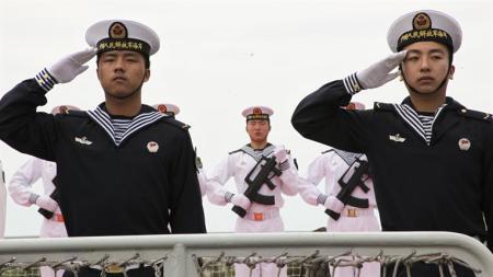 marineros chinos