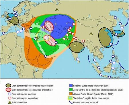 mapa geopolitico