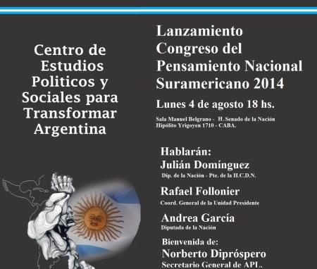 congreso del pensamiento suramericano
