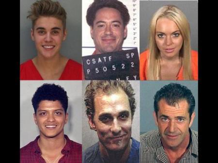 famosos arrestados