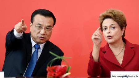 Dilma y Li Keqiang