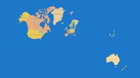 mapa casi mundi