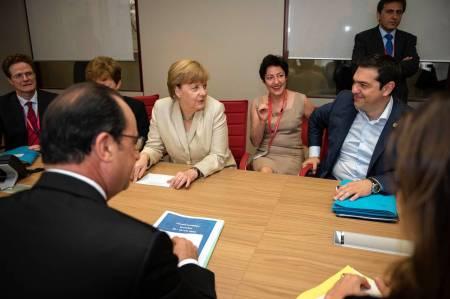 Tsipras, Merkel, Hollande, others
