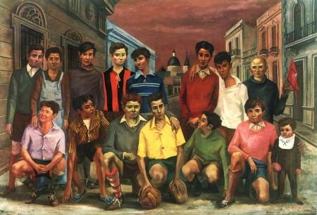Antonio Berni Team de futbol o Campeones de barrio