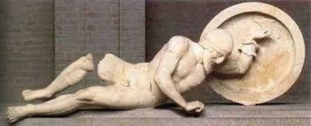 guerrero de grecia