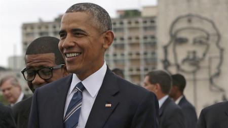 obama en plaza de la revolución
