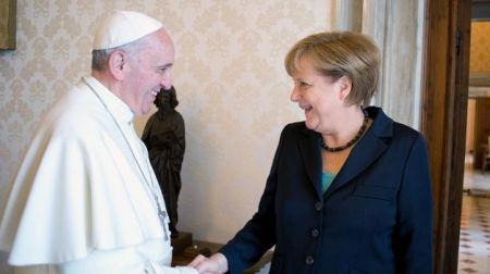 Angela-Merkel-papa-Francisco
