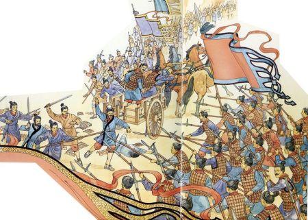Qin army