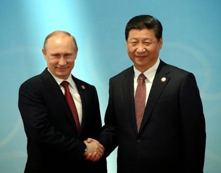 Putin y Xi-Jinping