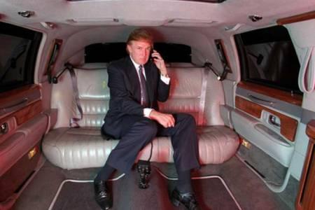 trumps-limousine