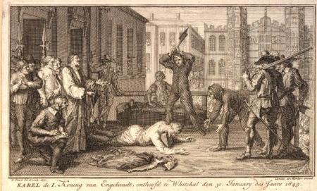 decapitación de Carlos I
