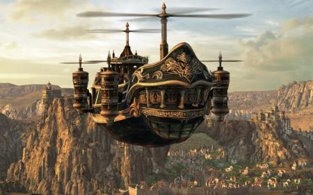 airship-steampunk