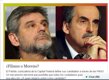 Filmus o Moreno
