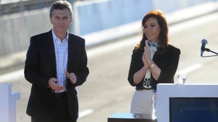 Cristina-Mauricio-Macri